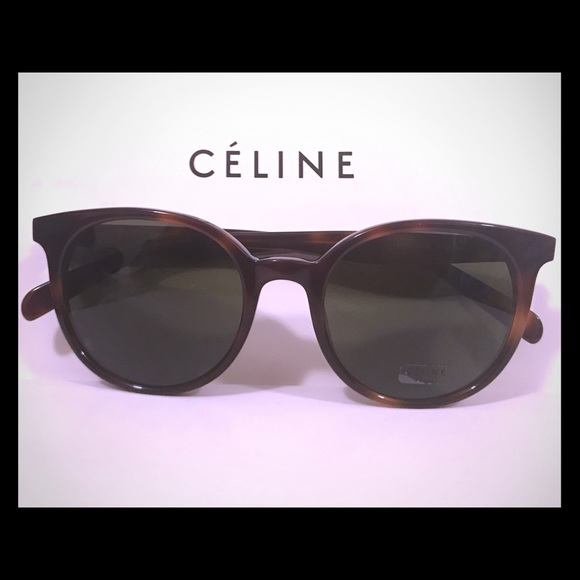 e449b58ea78c Accessories - Celine Sunglasses 41067 S Havana w  Green lenses
